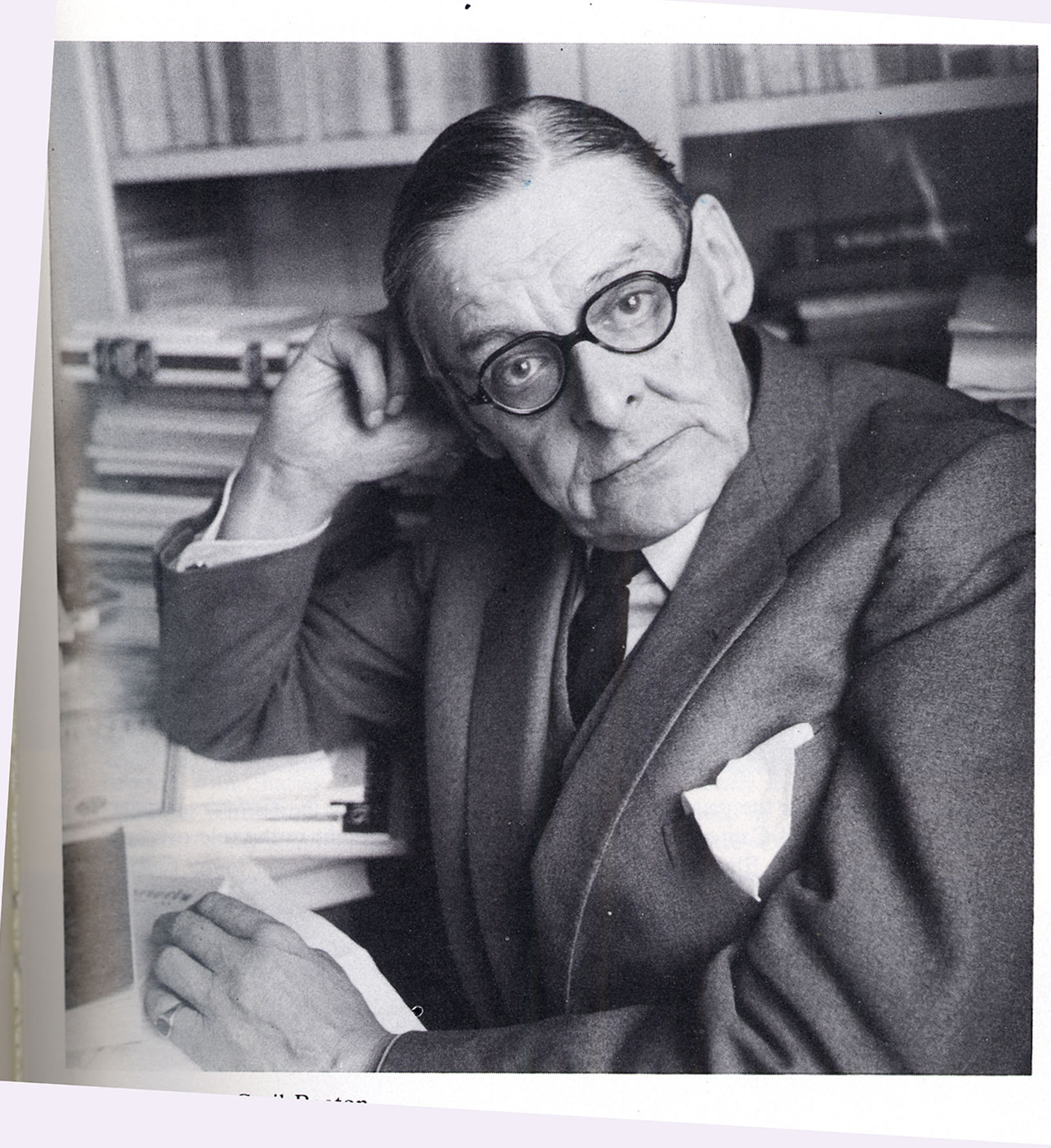 a biography of thomas stearns eliot